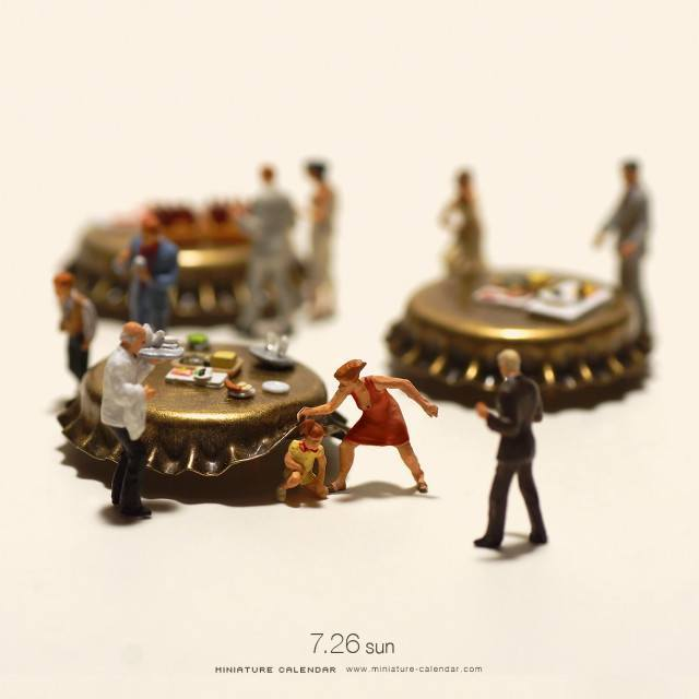 Hide and Seek, Miniature Calendar