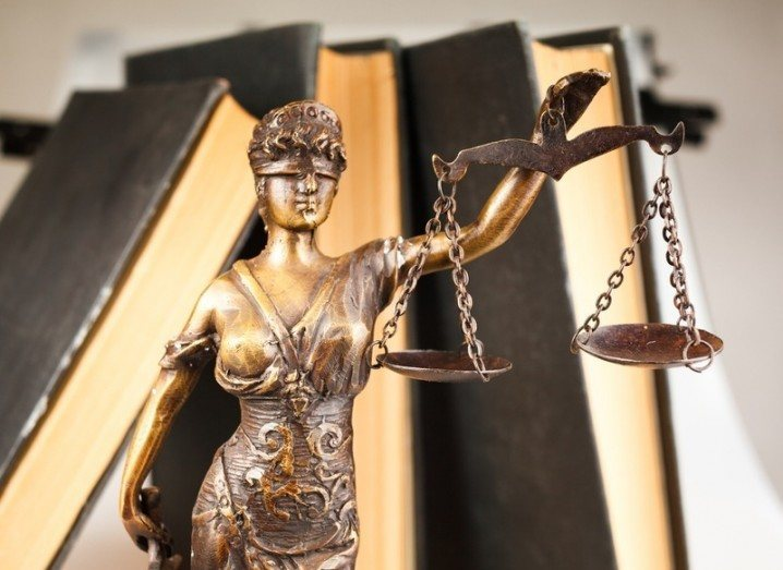 Schrems: statue of Lady Justice