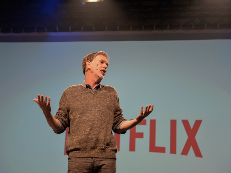 Internet TV market remains vibrant, says Netflix CEO Reed Hastings