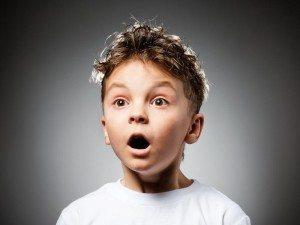 Jobs market: super surprised child