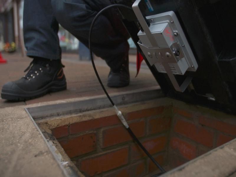 I'm walking on Wi-Fi: UK's first smart pavement opens