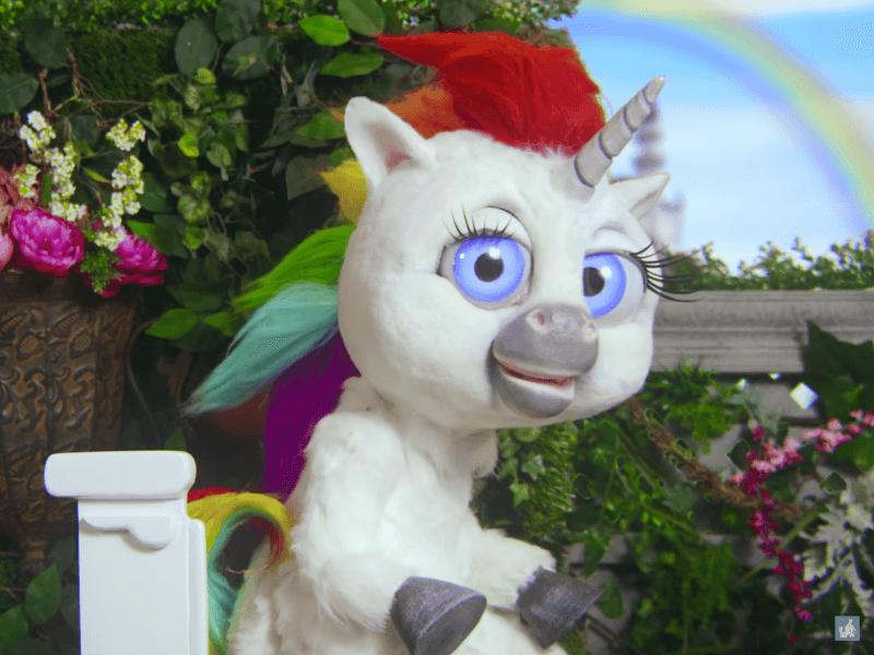 Follow this unicorn's advice for better bathroom breaks