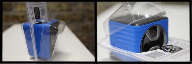 Burst HMDX rechargeable speaker