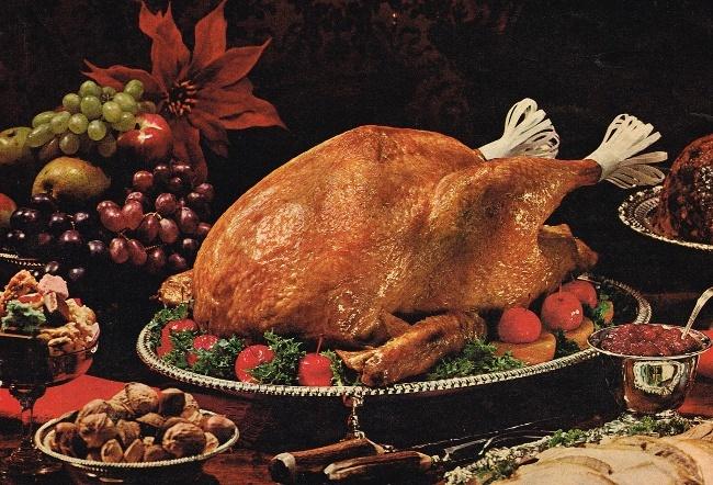 How to cook a turkey: vintage turkey