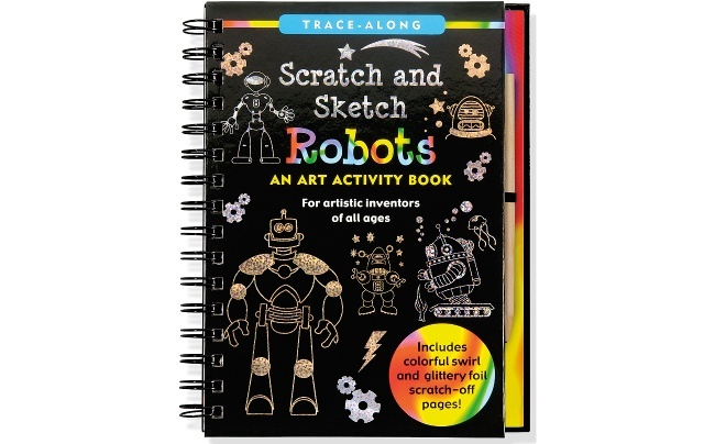 Best kids' books: Scratch and Sketch Robots