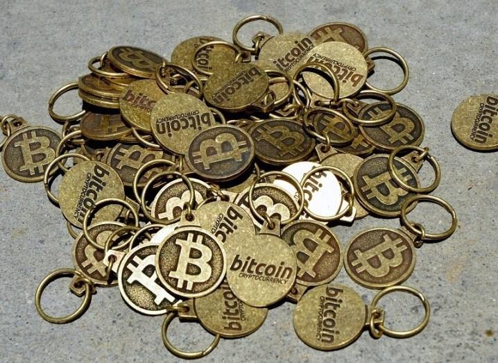 Bitcoin-pile