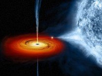 On #BlackHoleFriday, a black hole is devouring a distant star