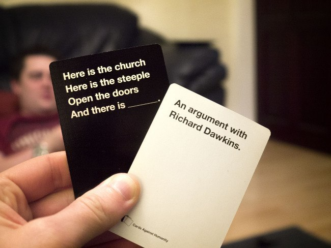 Christmas gifts for dad and mam | Cards Against Humanity
