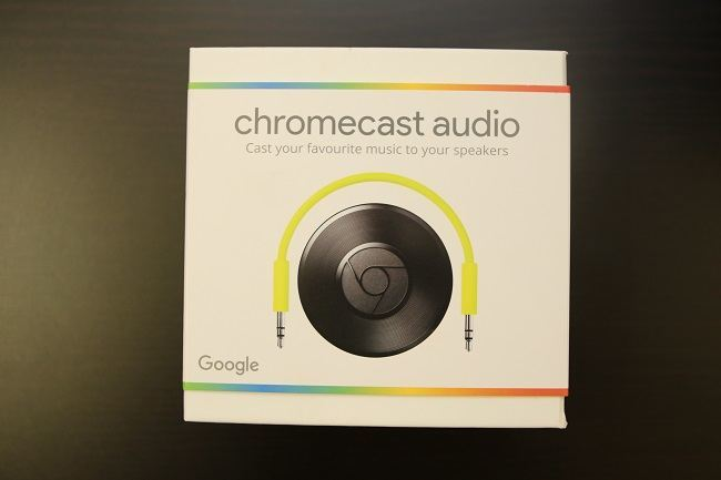Chromecast Audio box