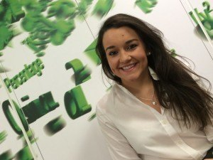 PMO analyst Claire McGuckin