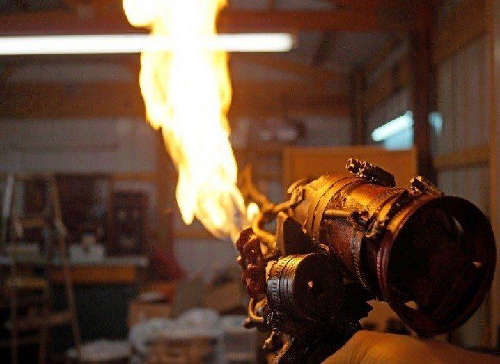 Flaming sword Fallout 4