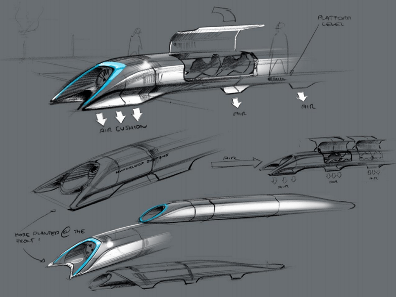 Hyperloop expects $80m in funding by year's end, construction begins
