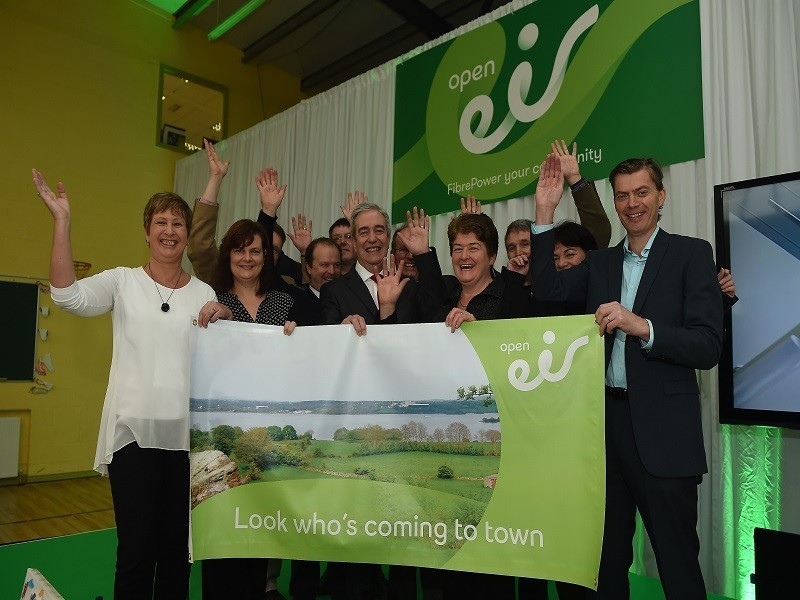 Cavan town Munterconnaught wins Eir competition to get fibre-to-home broadband