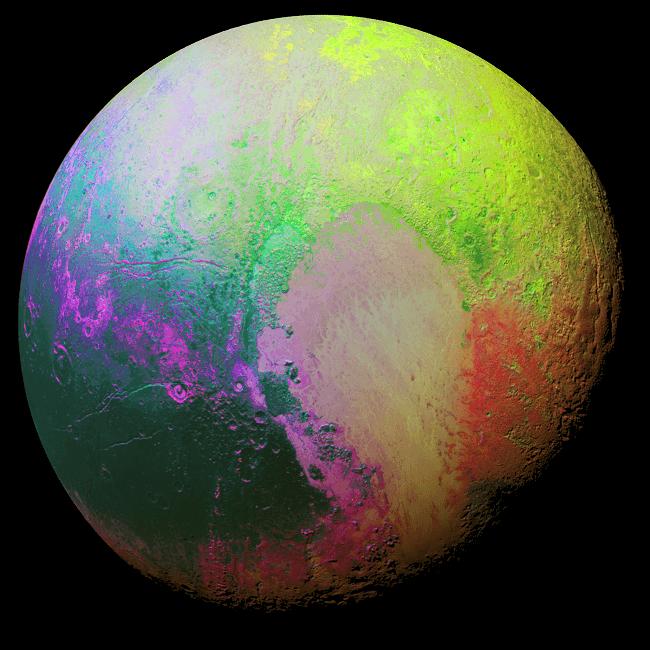 Psychedelic Pluto