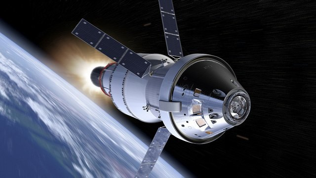 Orion spacecraft illustration
