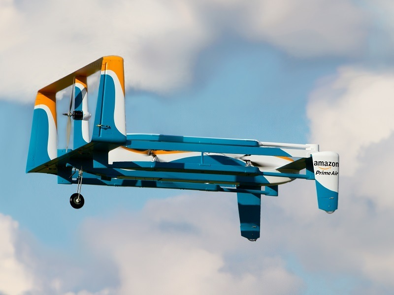 Watch: Amazon shows off the new Prime Air drone … and Jeremy Clarkson