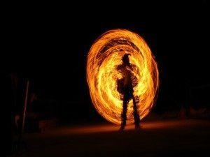 Pyro mini fireball