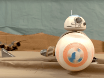 Star Wars trailer as you've never seen it before