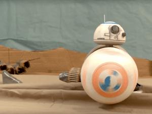 Star Wars BB-8, Dumb Drum sweded version