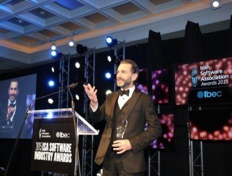 Tom Morrisroe named Irish software industry's person of the year 2015
