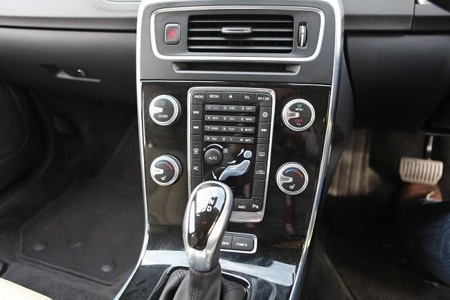 Volvo V60 Hybrid interior