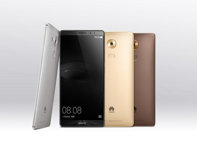 Huawei reveals the new Mate 8, and no, not the M8