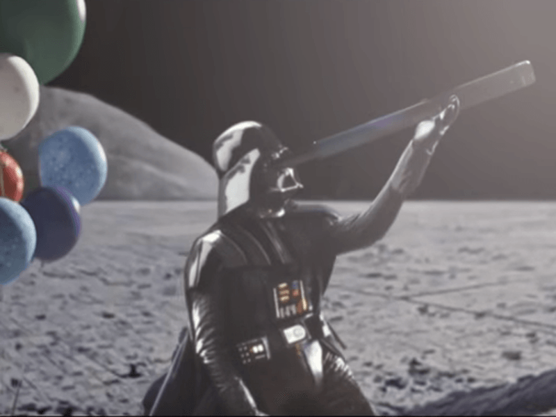 John Lewis Christmas ad parody goes to Dark Side of the moon