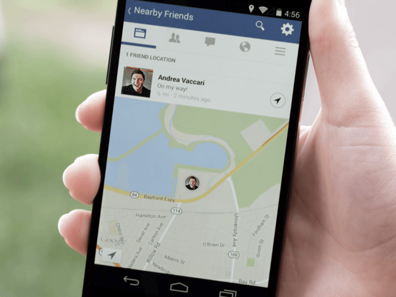 Facebook reveals new geo tool to find your Nearby Friends