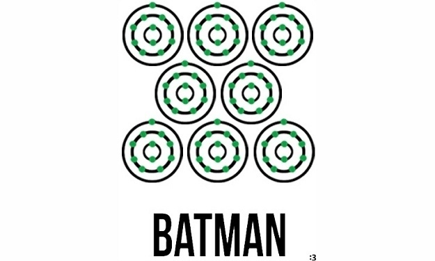 Science puns Batman