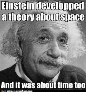 Einstein science puns