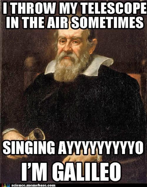 Galileo science puns