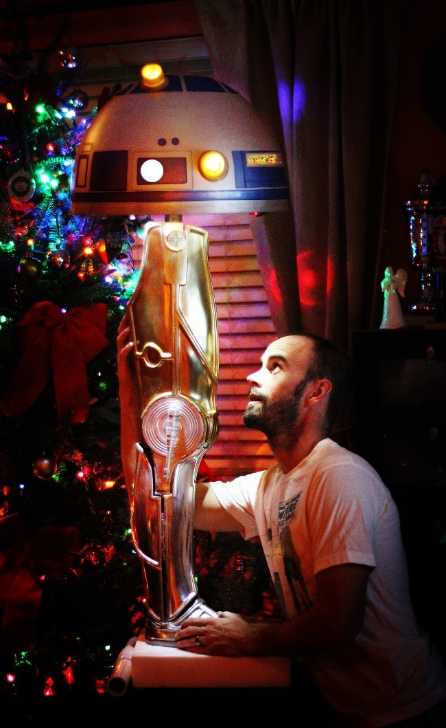 5 Leg Lamp Star Wars furniture | Star Wars: The Force Awakens
