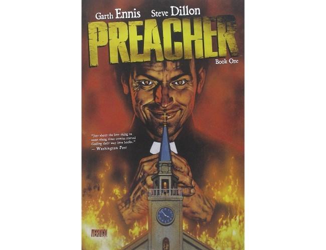 Sci-fi books: Preacher