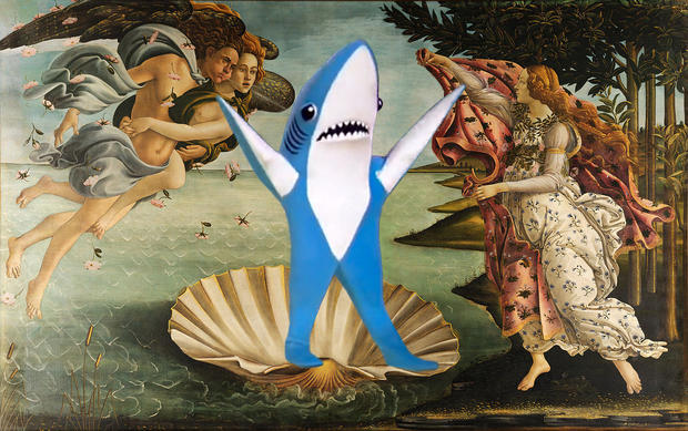 Birth of Left Shark