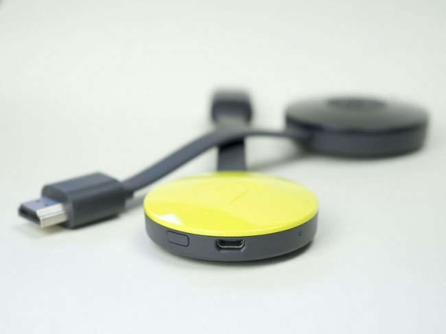 Home entertainment device of the year 2015 Chromecast