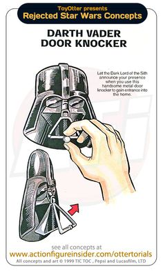Darth Vader door knocker