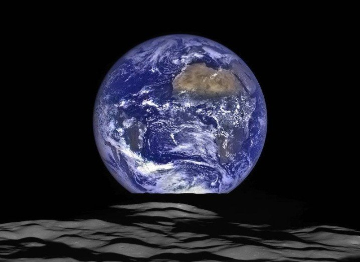Earth moon NASA