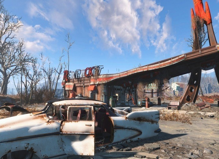 Fallout 4 patch: game play image