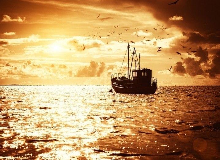 Microsoft: fishing trawler
