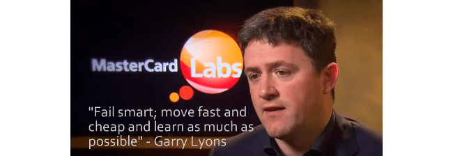 Garry Lyons, MasterCard