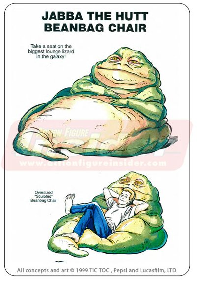 Jabba the Hut beanbag