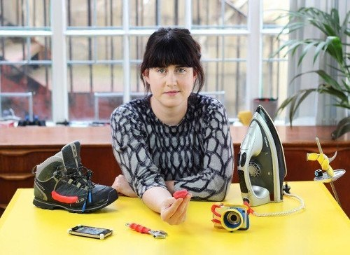 Jane Ní Dhulchaointigh, inventor of Sugru and founder of FormFormForm