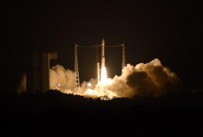 LISA Pathfinder taking off