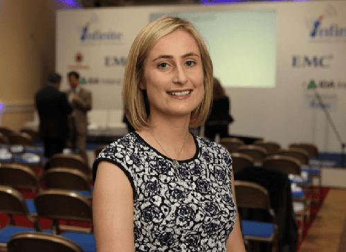Lauren Morris, M2M sales manager, Vodafone Global Enterprise