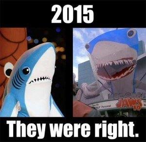 Left Shark BTTF