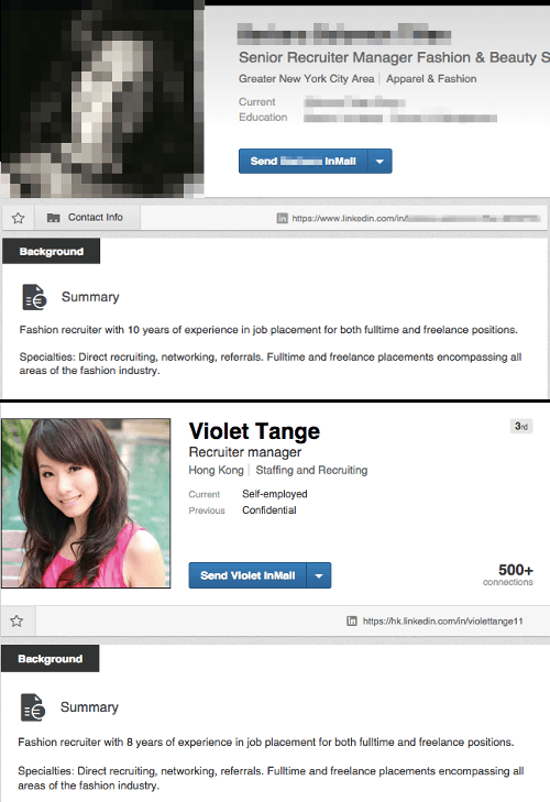 LinkedIn copying and pasting
