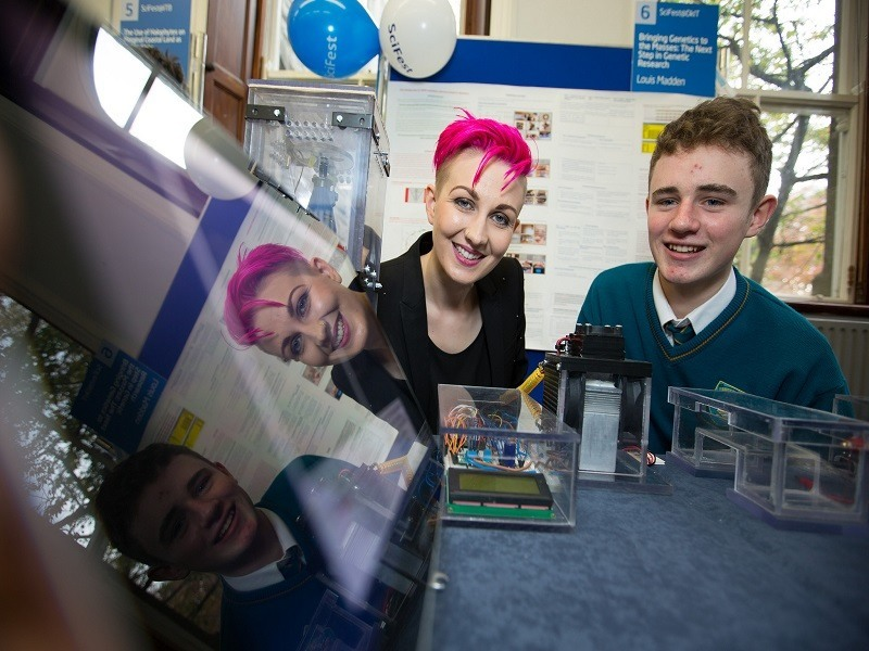 Monaghan student bags top prize at SciFest 2015