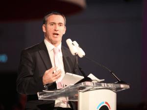 Minister Damien English, TD