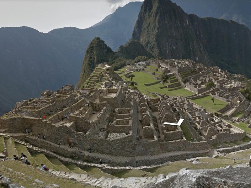 Google Street View takes on Machu Picchu