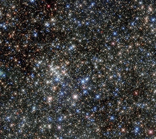 Quintuplet Cluster. Image via NASA/ESA